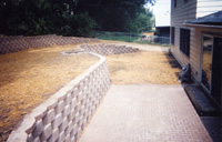 Earthscapes, Inc. retaining walls